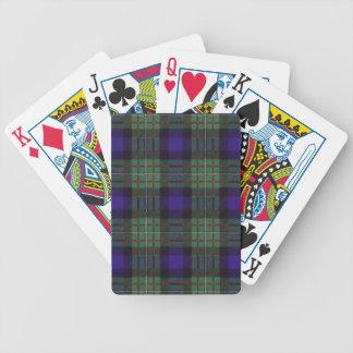 Real Scottish tartan - Ferguson - Playing cards