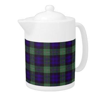 Real Scottish tartan - Forbes Teapot