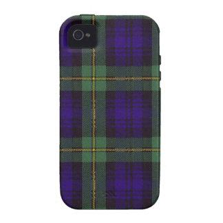 Real Scottish tartan - Gordon Case-Mate iPhone 4 Case