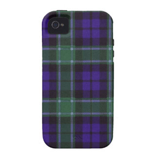 Real Scottish tartan - Graham - Drawn by Nekoni iPhone 4/4S Covers