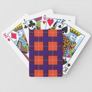 Real Scottish tartan - Hamilton Bicycle Playing Cards
