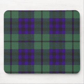 Real Scottish tartan - Keith - Drawn by Nekoni Mouse Pad