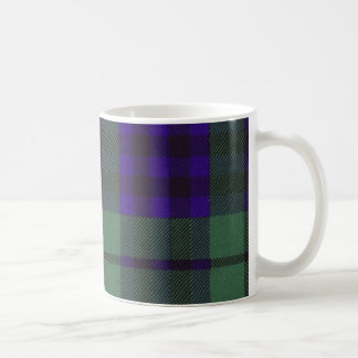 Real Scottish tartan - Keith - Drawn by Nekoni Classic White Coffee Mug