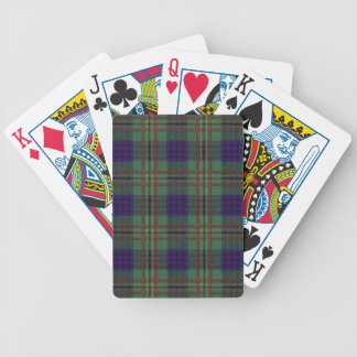 Real Scottish tartan - Kennedy Bicycle Playing Cards