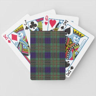 Real Scottish tartan - Kennedy Bicycle Playing Cards