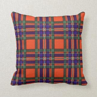 Real Scottish tartan - Macfarlane Throw Pillow