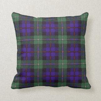 Real Scottish tartan - Mackenzie Throw Pillow