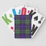 Real Scottish tartan - Macleod of Harris Poker Deck