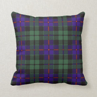 Real Scottish tartan - Morrison Throw Pillow