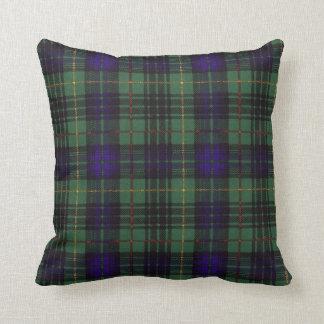 Real Scottish tartan - Stewart Hunting Throw Pillow