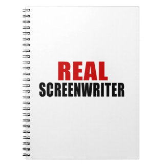 REAL SCREENWRITER NOTEBOOK