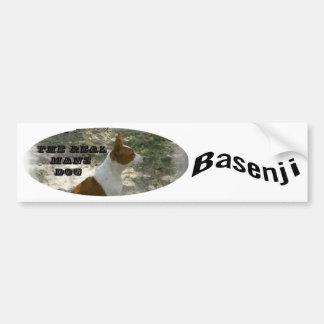 Real sirve a la pegatina para el parachoques de Ba Etiqueta De Parachoque