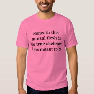 real skeleton shirts