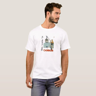 Real Skiers Ski Cannon Mountain T-Shirt