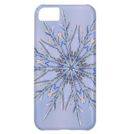 Real Snowflake Fractal 6 Case For iPhone 5C