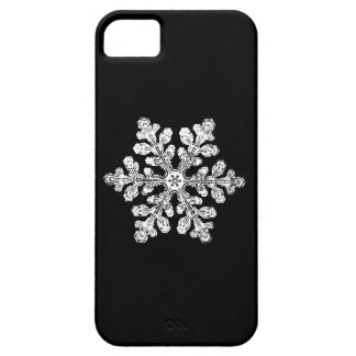 Real snowflake iPhone SE/5/5s case