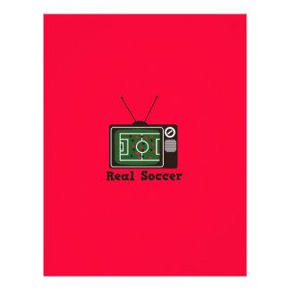 Real Socccer Flyer