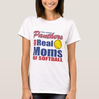 Real Softball Mom T-Shirt