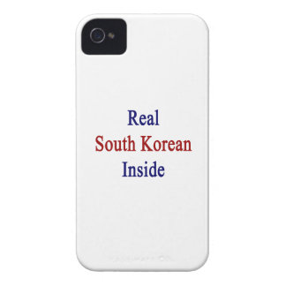 Real South Korean Inside Case-Mate iPhone 4 Cases