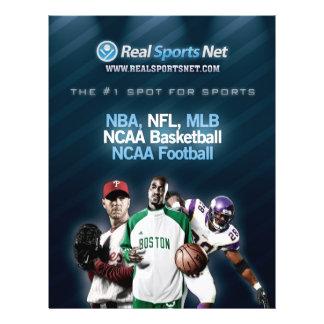 Real Sports Net Flyer