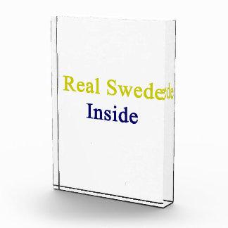 Real Swede Inside Acrylic Award