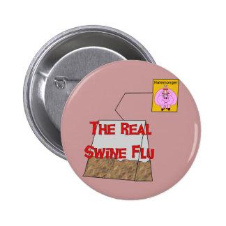 Real Swine Flu Buttons