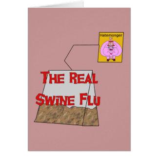 Real Swine Flu Card