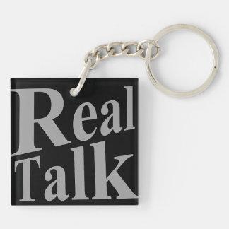 Real Talk Keychain