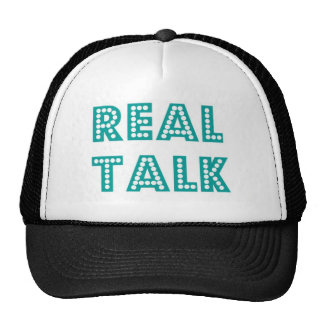 Real Talk Snapback Trucker Hat