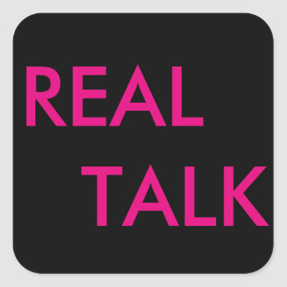 Real Talk sticker