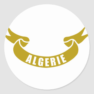 real-tape-algerie round stickers