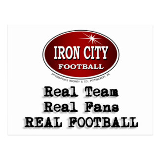 Real Team, Real Fans... Postcard