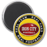 Real Team, Real Fans, Real Football Pittsburgh Refrigerator Magnet