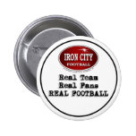 Real Team Real Fans Real Football Pittsburgh Pin