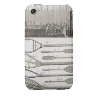 Real tennis and the construction of racquets, from Case-Mate iPhone 3 case