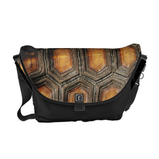 Real Tortoise Shell Courier Bag