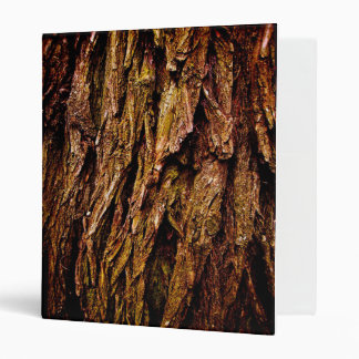 Real Tree Bark Binders