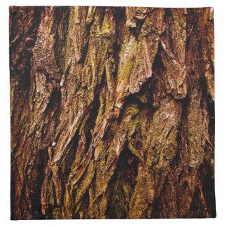 Real Tree Bark Cloth Napkin
