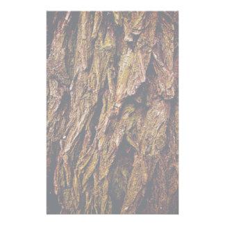 Real Tree Bark Stationery