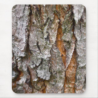 Real Tree Bark Texture Mouse Pad