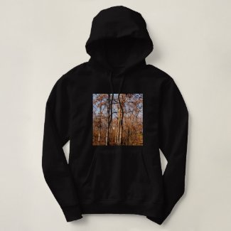 Real Trees, Fall Style Hooded Sweatshirt