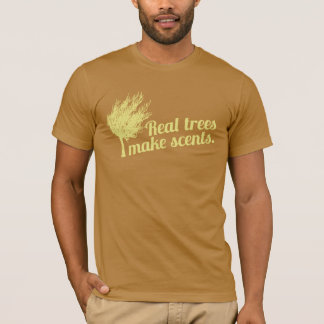 Real Trees Make Scents Retro Stella T-Shirt