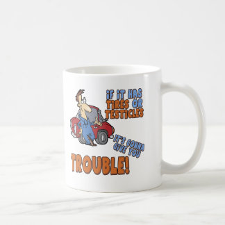 Real Trouble T-shirts and Gifts For Her Coffee Mug