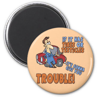 Real Trouble T-shirts and Gifts For Her Magnet