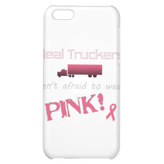 Real Truckers Wear Pink - Breast Cancer Cover For iPhone 5C