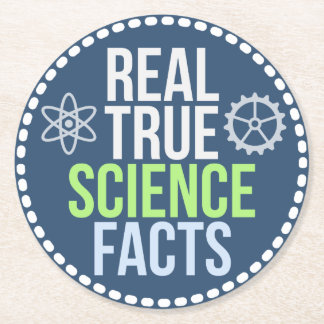 Real True Science Facts Coasters