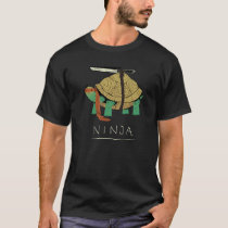 Real turtle ninja funny t shirt designs