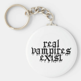 Real Vampires Exist Keychain