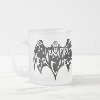 Real Vampires Wear Capes Dracula Mug