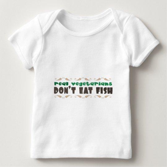 Real Vegetarians Baby T-Shirt